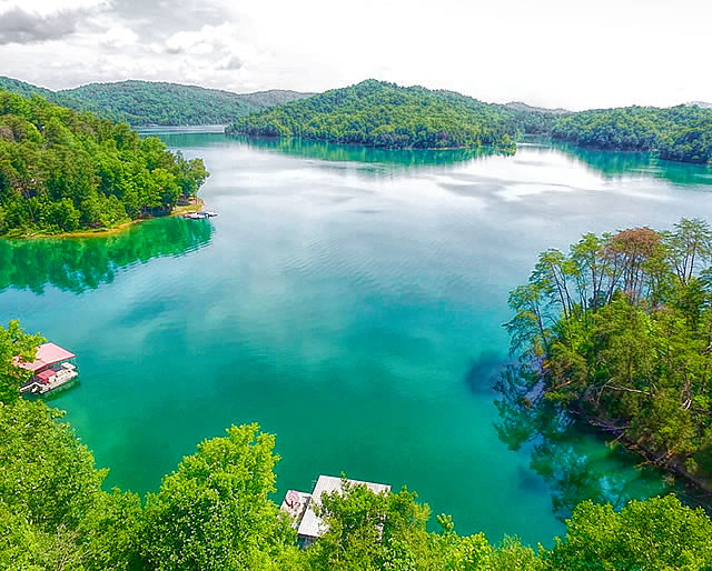 Lake Views at Norris Shores on Norris Lake